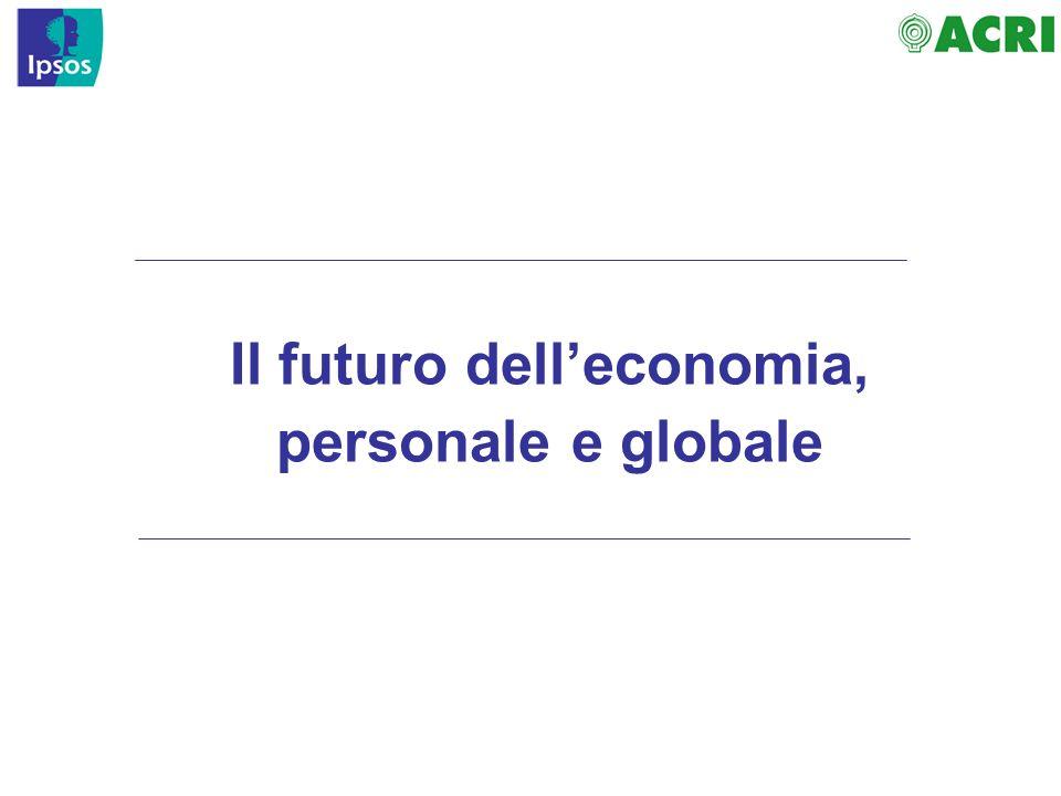 Il futuro delleconomia, personale e globale