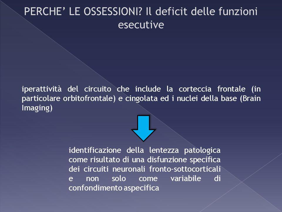 identificazione della lentezza patologica come risultato di una disfunzione specifica dei circuiti neuronali fronto-sottocorticali e non solo come var