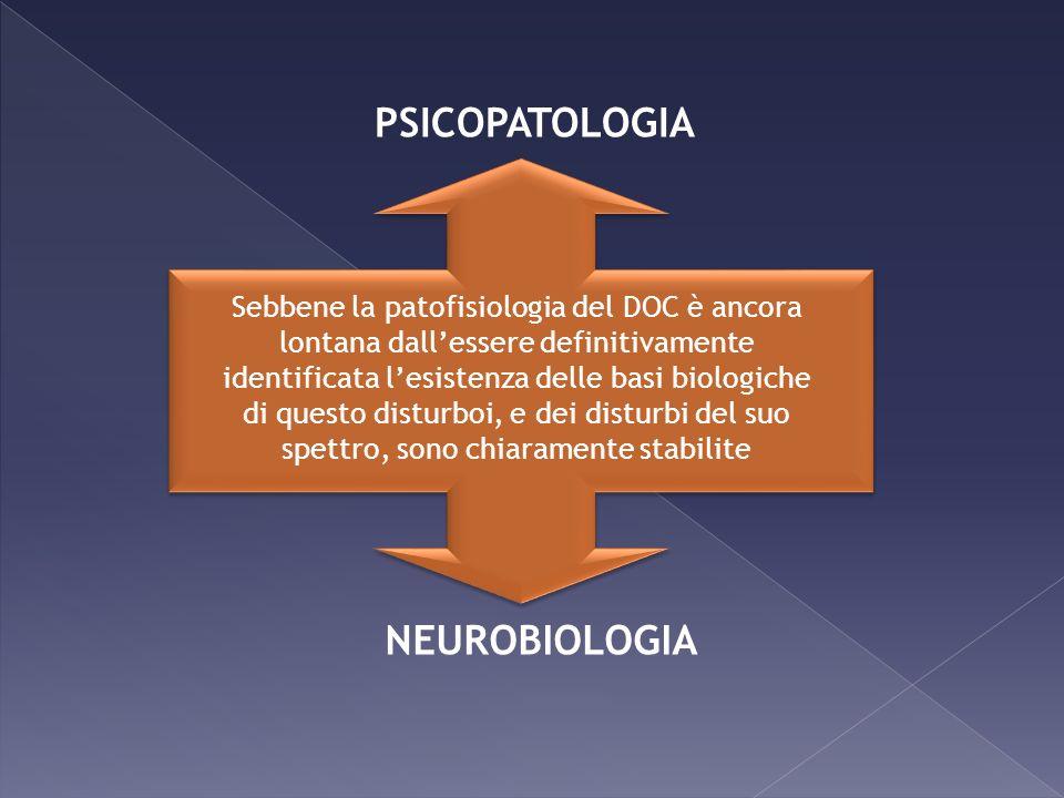 Sebbene la patofisiologia del DOC è ancora lontana dallessere definitivamente identificata lesistenza delle basi biologiche di questo disturboi, e dei