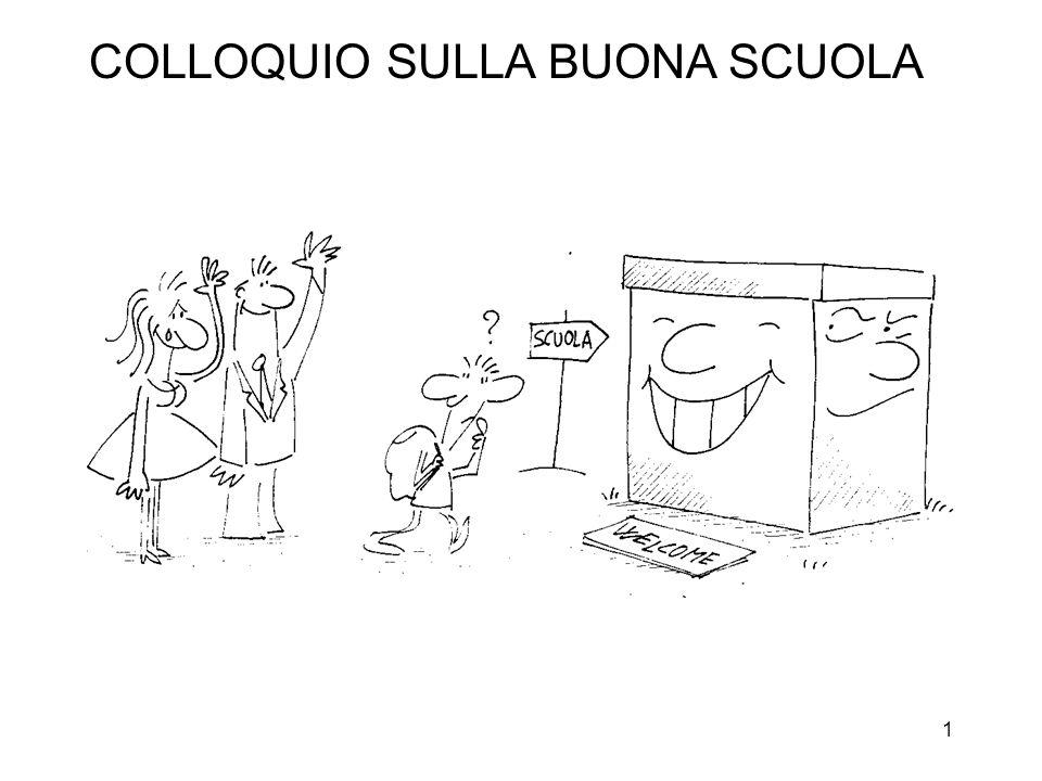 1 COLLOQUIO SULLA BUONA SCUOLA