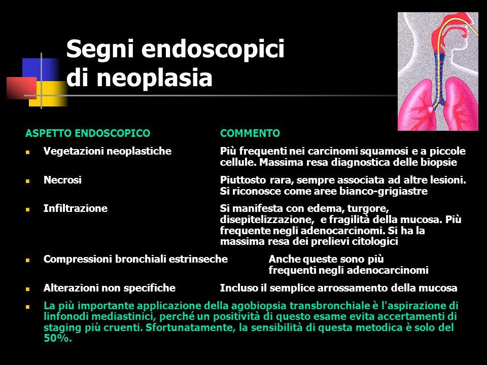 BRONCOSCOPIA La fibrobroncoscopia (FBS) è un esame estremamente tollerabile, di facile esecuzione, ripetibile, che non richiede anestesia generale e che permette di raggiungere e visionare i bronchi più periferici grazie all uso delle fibre ottiche.