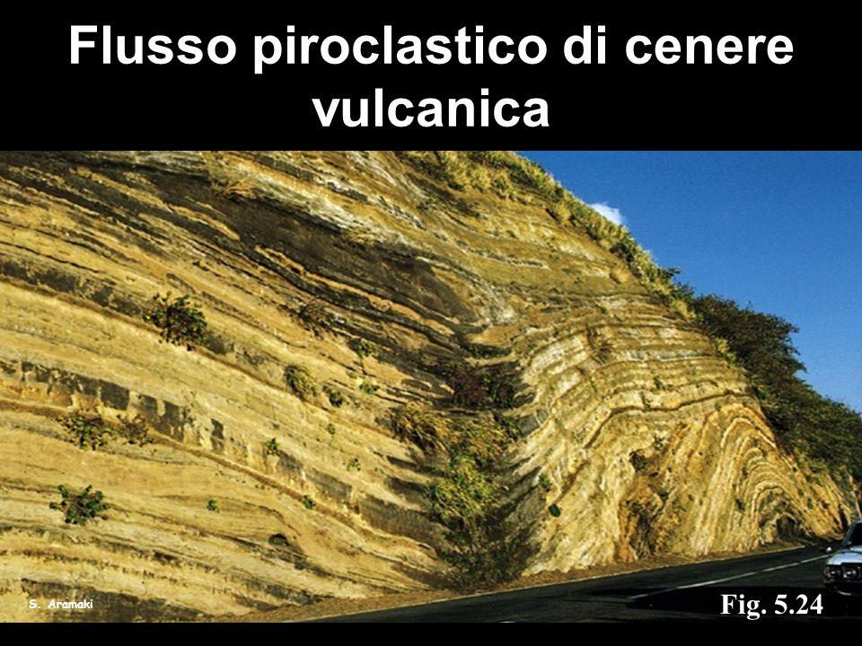 S. Aramaki Fig. 5.24 Flusso piroclastico di cenere vulcanica