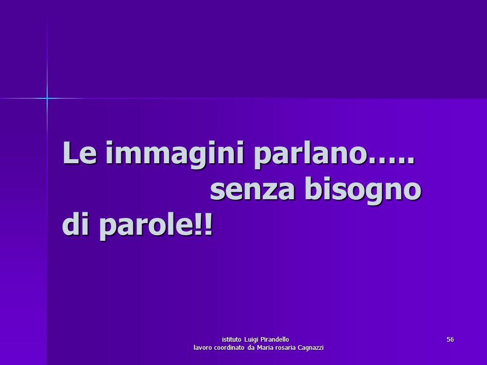 istituto Luigi Pirandello lavoro coordinato da Maria rosaria Cagnazzi 57
