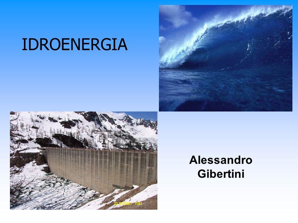 Energia dalle maree Centrale di marea: estuario sbarrato in direzione del mare con una diga artificiale.