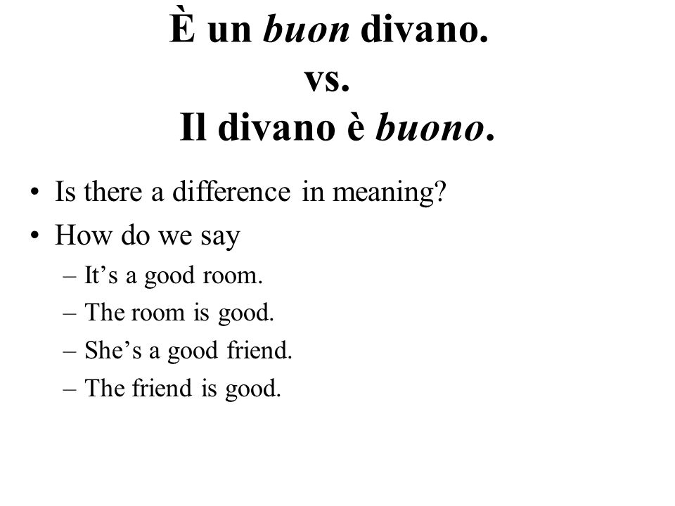 Questo, Quello This and these have the ts that and those dont Can be used as a demonstrative adjective or as a pronoun.