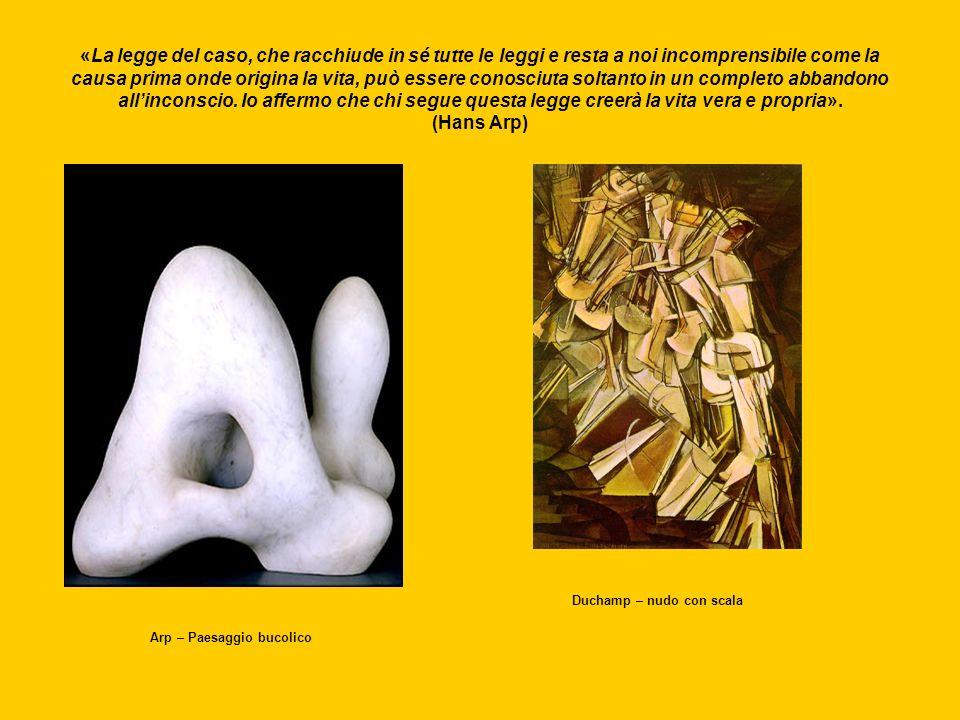 Con la tecnica del ready – made, Marcel Duchamp mette in discussione la stessa legittimità del concetto di arte: se tutto è arte, nulla è arte Duchamp – Ruota di biciclettaDuchamp - Fontana