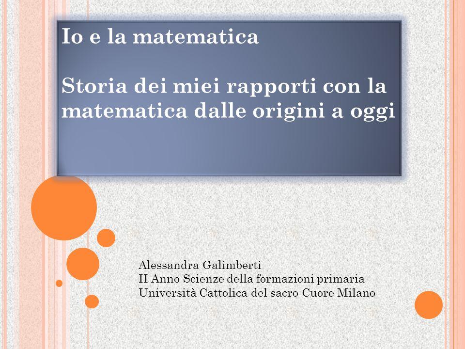 La matematica verso la maturità Walter Paolo Maroscia, professore ordinario di Geometria e Algebra all Università La Sapienza, ha pubblicato un articolo su Epolis Torino il 26 novembre 2009.
