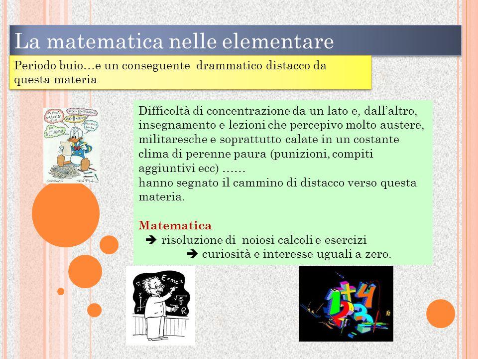La matematica nelle elementare Allora Alessandra dimmi la tabellina del 7 e ricorda che 17 bambini che conosci non hanno mai sbagliato, non vorrai fare figuracce, vero?....avanti ….