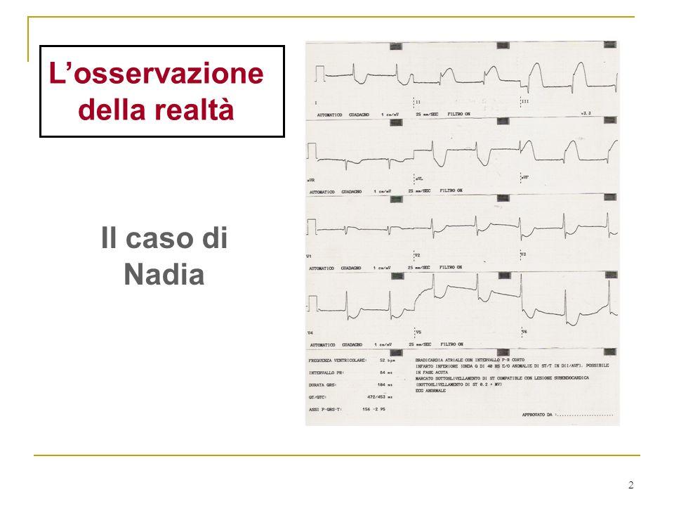 2 Losservazione della realtà Il caso di Nadia