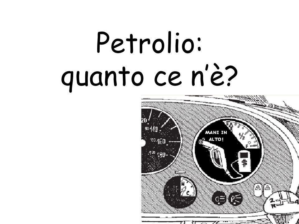 Petrolio: quanto ce nè?