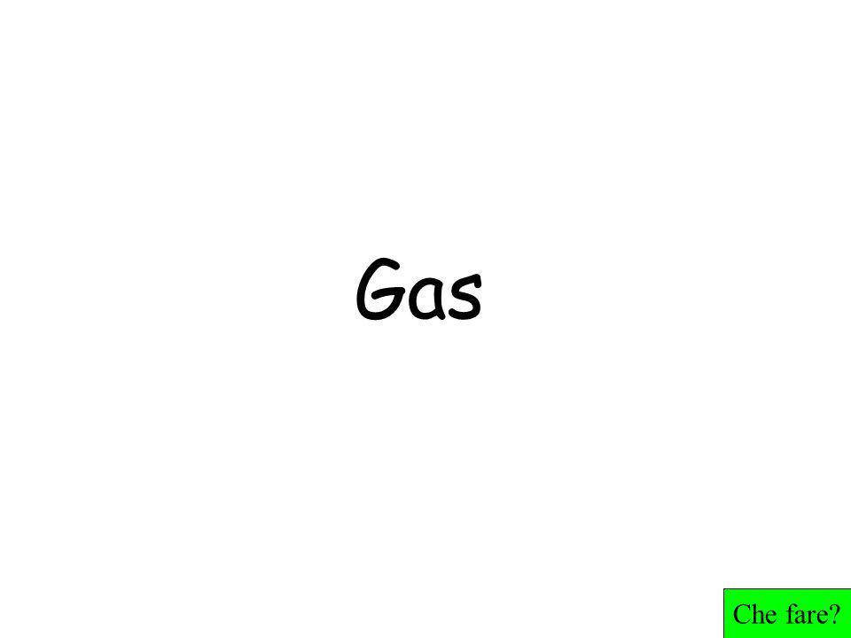 Gas Che fare?