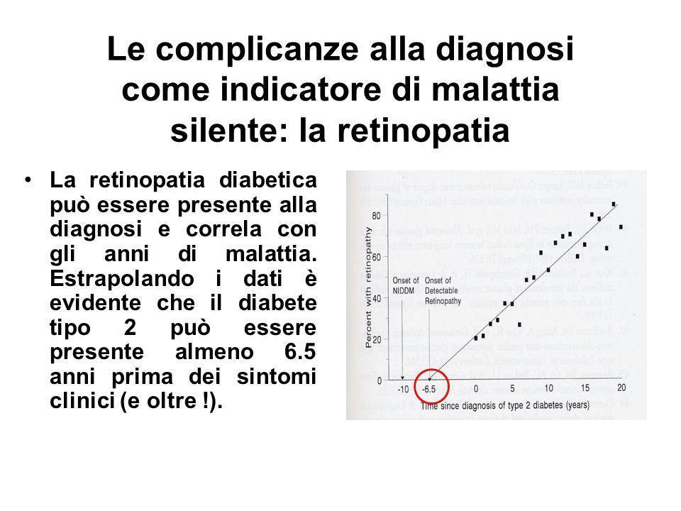 Diabete tipo 2: rilevanza della diagnosi T2D= circa 90% di tutti i casi. Insorge tipicamente > 50 anni di età ed ha una elevata morbidità e costo soci