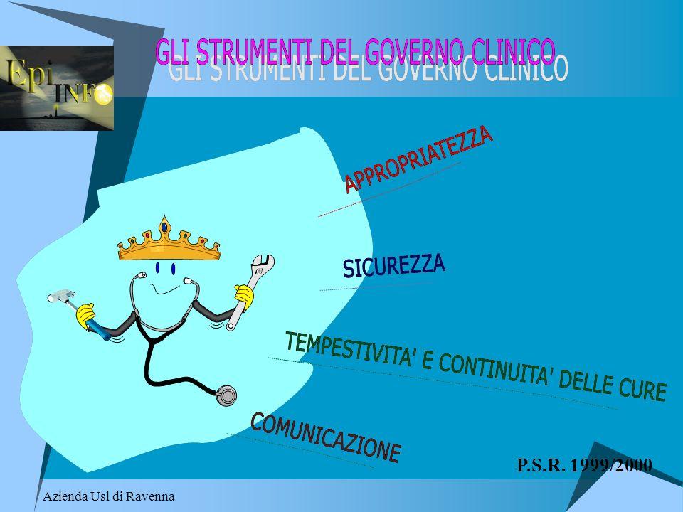 Azienda Usl di Ravenna P.S.R. 1999/2000