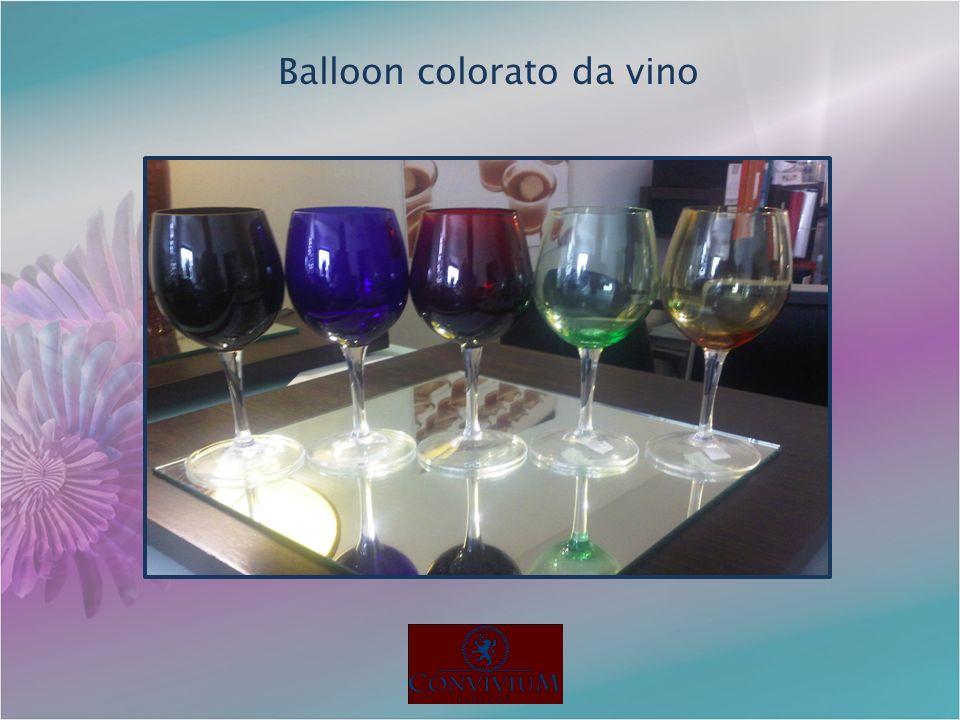 Balloon colorato da vino