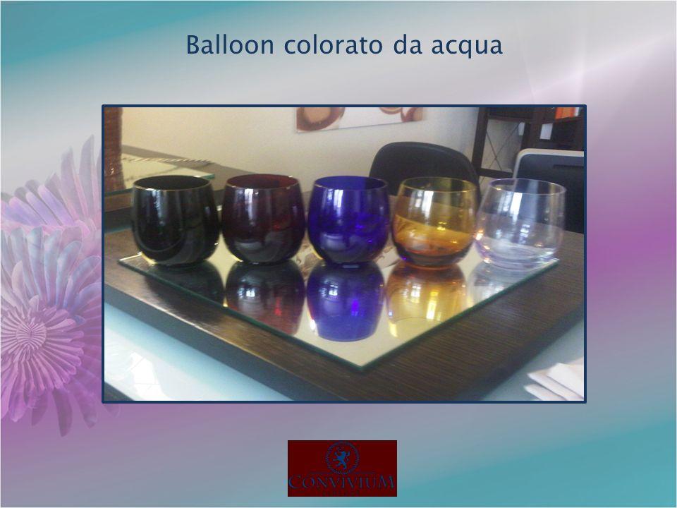 Balloon colorato da acqua