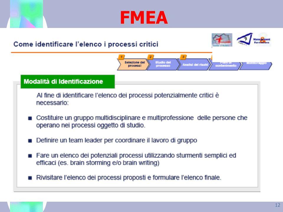 12 FMEA