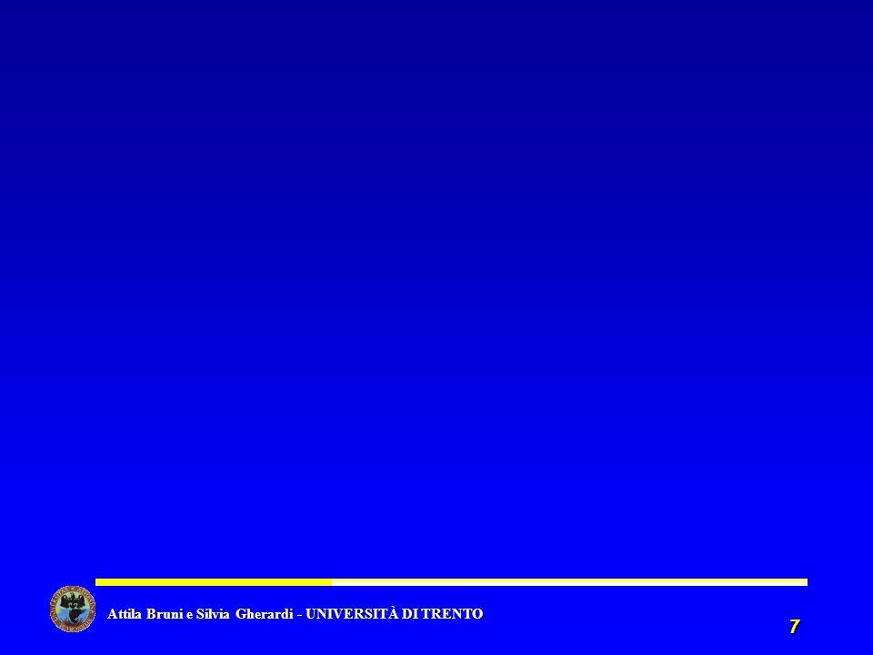 Attila Bruni e Silvia Gherardi - UNIVERSITÀ DI TRENTO Attila Bruni e Silvia Gherardi - UNIVERSITÀ DI TRENTO 7