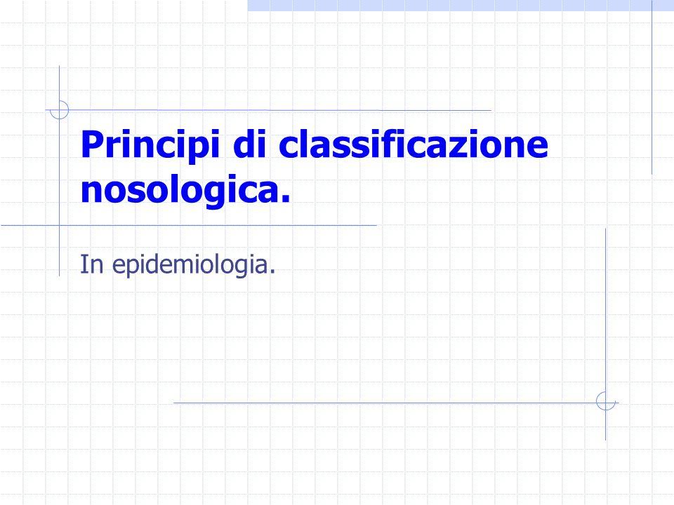 relazione causa effetto in studi epidemiologici.
