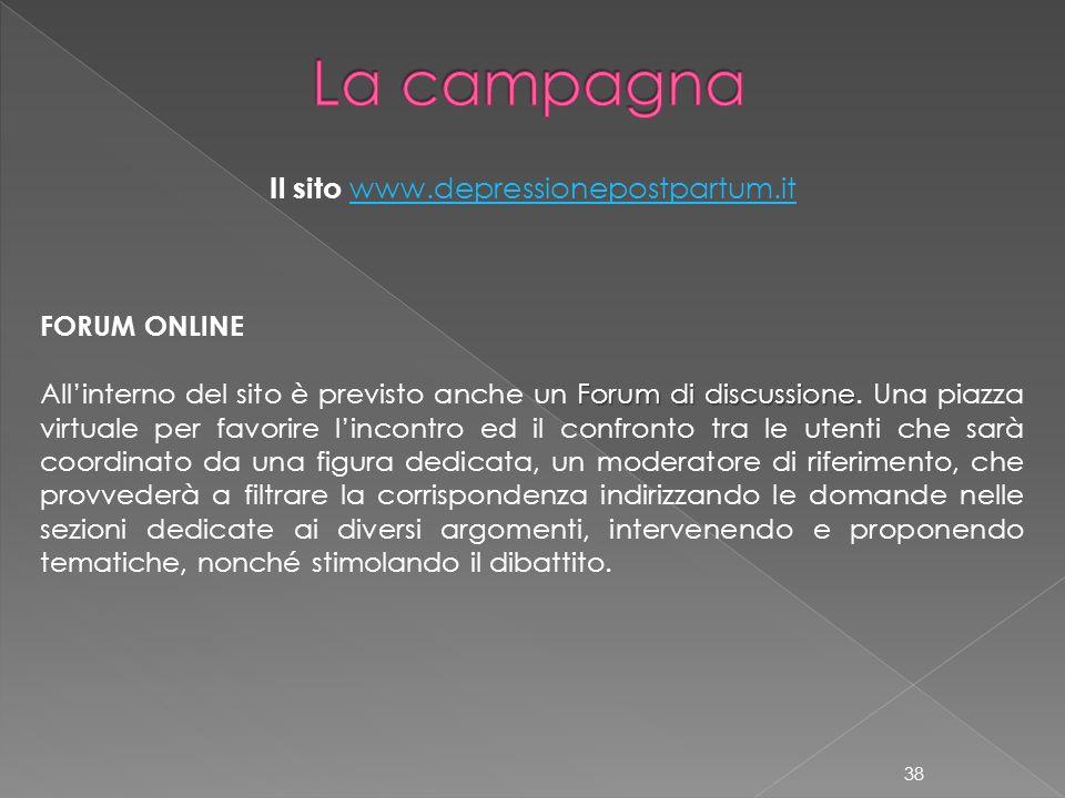 FORUM ONLINE Forum di discussione Allinterno del sito è previsto anche un Forum di discussione. Una piazza virtuale per favorire lincontro ed il confr