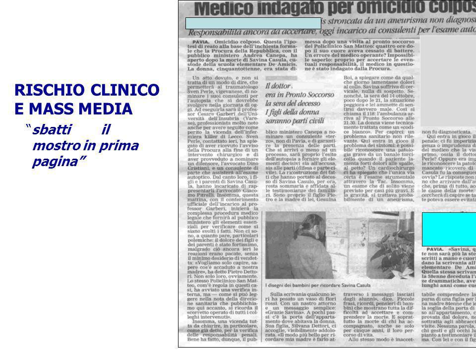 Palermo 8-10 ottobre 2009 PATOGENESI DELLERRORE IN MEDICINA Lerrore medico viene considerato oggi levento conclusivo di una catena di fattori. Il cont