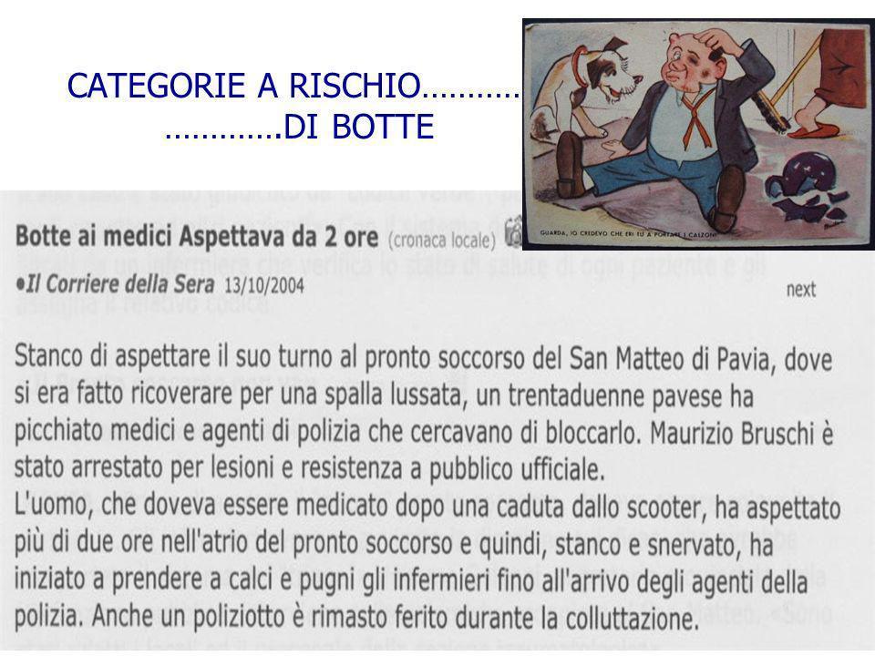 Palermo 8-10 ottobre 2009 CATEGORIE A RISCHIO Il rischio clinico è particolarmente delicato per alcune categorie di professionisti: ginecologi ortoped