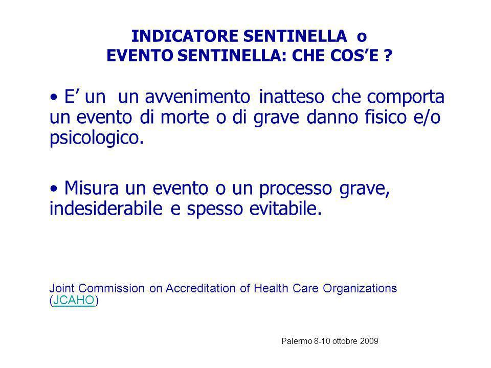 Palermo 8-10 ottobre 2009 LERRORE NEL DEA: CAUSE aumentata complessità dei pazienti concentrazione variabile di casi acuti aumento del numero di acces