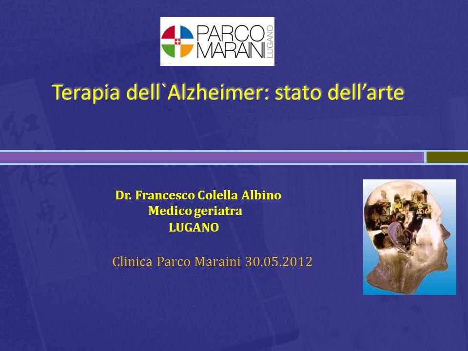 Dr. Francesco Colella Albino Medico geriatra LUGANO Clinica Parco Maraini 30.05.2012