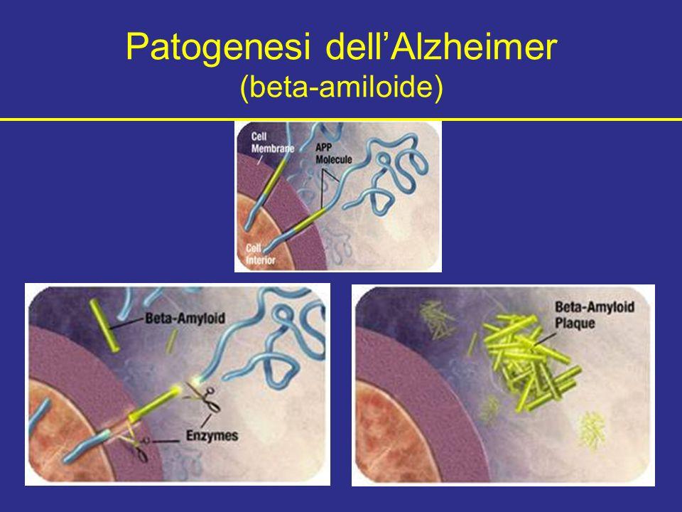 Patogenesi dellAlzheimer (beta-amiloide)