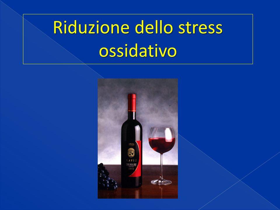 Riduzione dello stress ossidativo