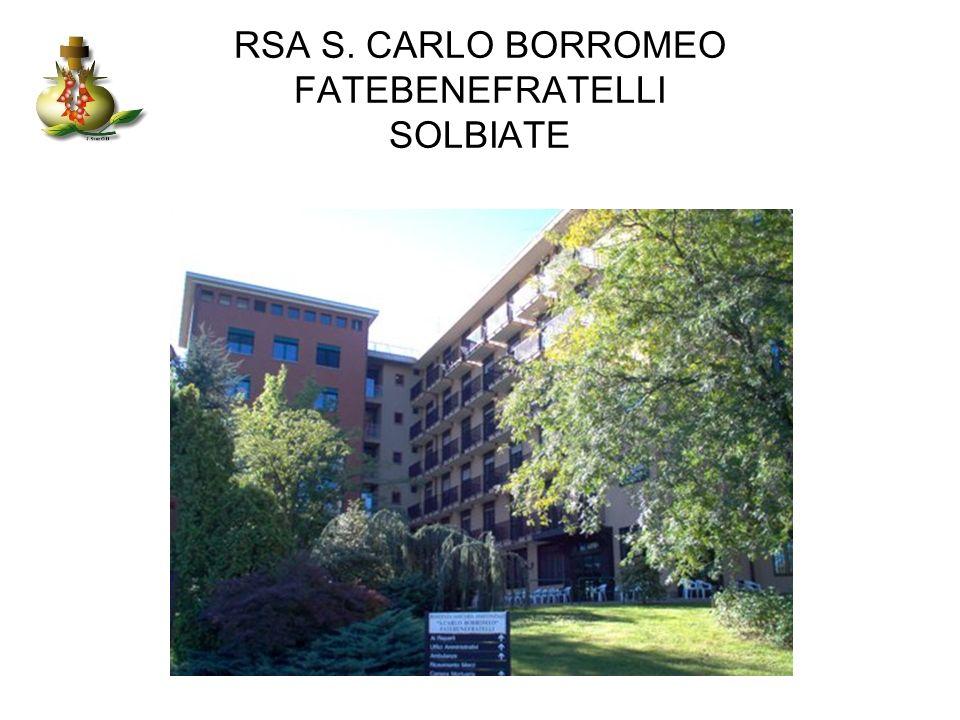 RSA S. CARLO BORROMEO FATEBENEFRATELLI SOLBIATE