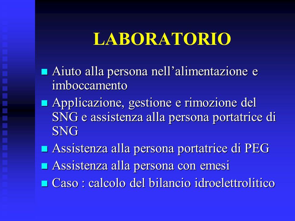 Modulo Alimentazione (per approfondimento dei contenuti presentati nel Corso) Palese A, Ciocchi B, Clementi R.