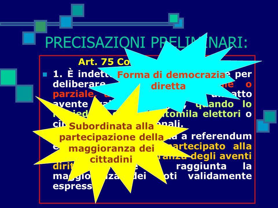 I referendum abrogativi sulla legge 40/04 Norme in materia di PMA a cura di Gianmaria Leotta I commenti ai singoli quesiti sono tratti in parte dal si