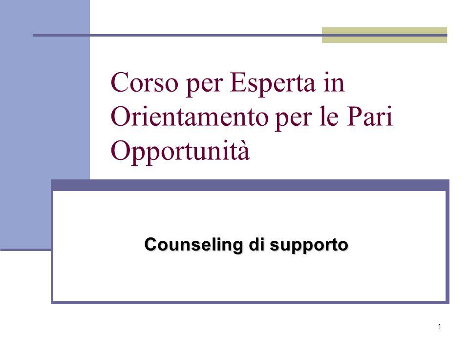 42 Tecnica del counselling una decisione è tanto più appropriata quanto più rispetta il mondo interno ed esterno del soggetto.