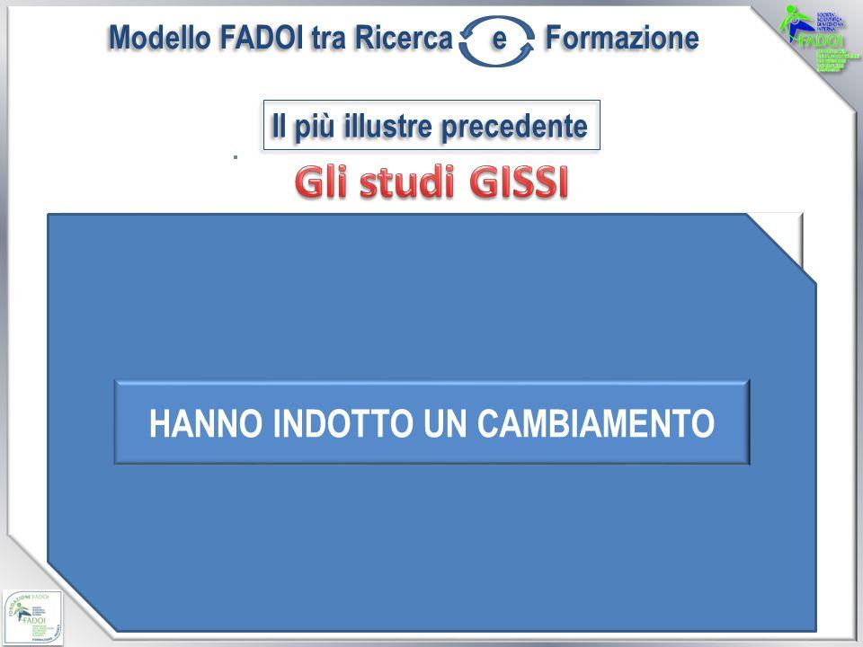 Il più illustre precedente Il Gruppo Italiano per lo Studio della Sopravvivenza nell Infarto Miocardico (GISSI), nato dalla collaborazione tra l Istituto Mario Negri e l Associazione Nazionale dei Medici Cardiologi Ospedalieri (ANMCO).