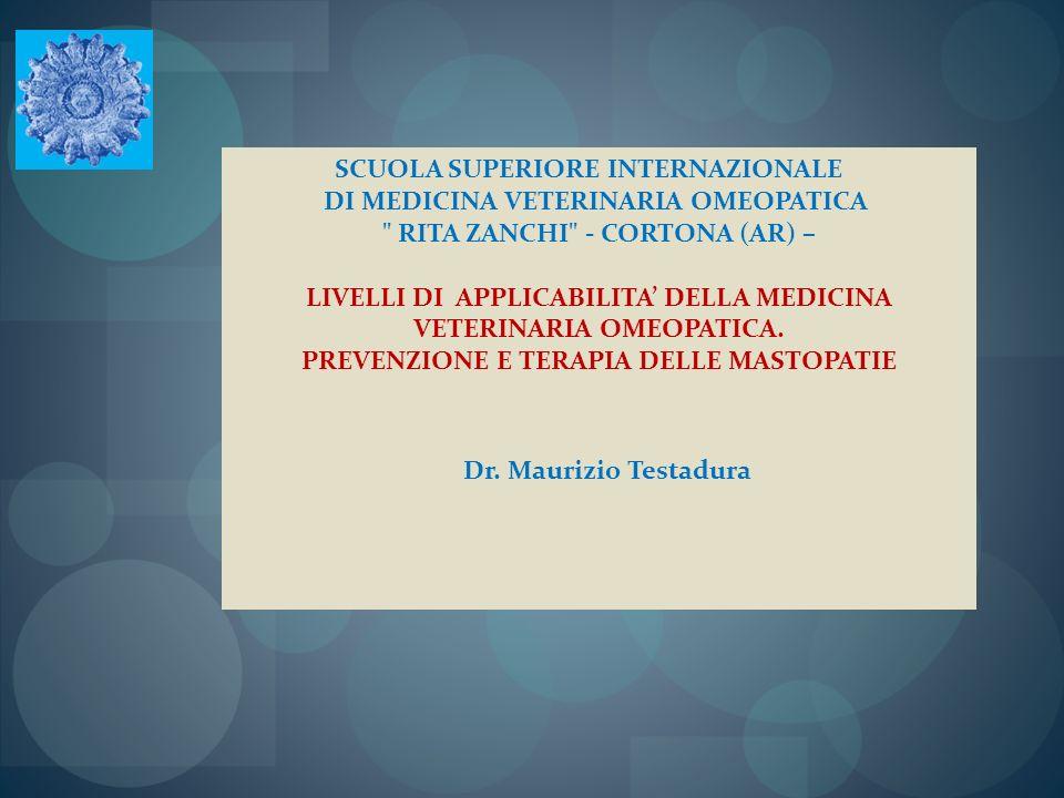 SCUOLA SUPERIORE INTERNAZIONALE DI MEDICINA VETERINARIA OMEOPATICA