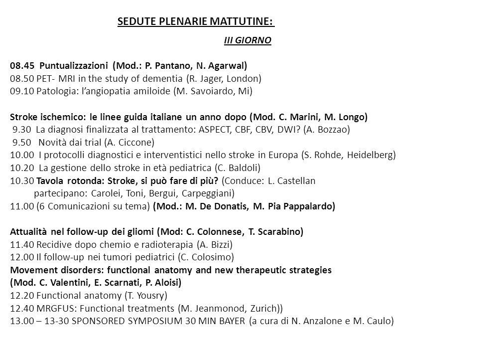 IV GIORNO 8.45 Piccola rassegna di casi limite: via al televoto (coordina S.