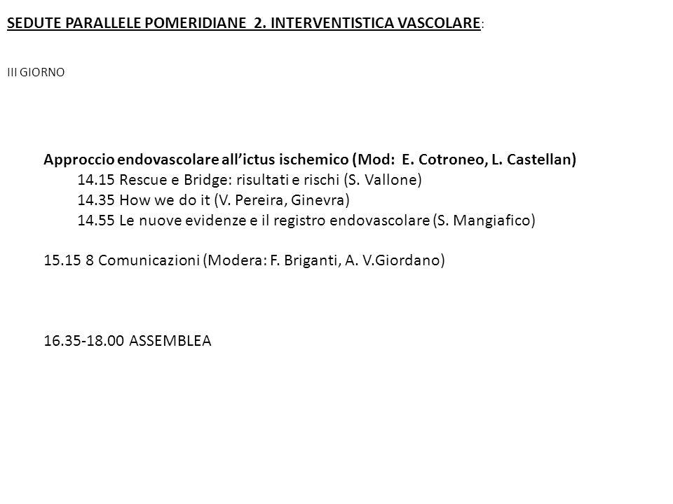 Interventistica discale e antalgica: i risultati (Mod: M.