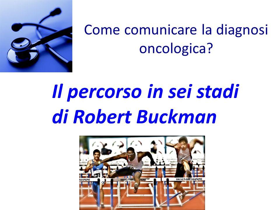 Come comunicare la diagnosi oncologica? Il percorso in sei stadi di Robert Buckman