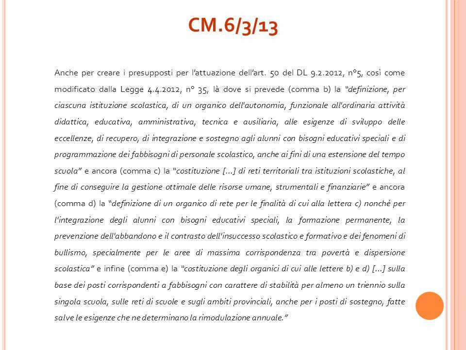 Anche per creare i presupposti per lattuazione dellart. 50 del DL 9.2.2012, n°5, così come modificato dalla Legge 4.4.2012, n° 35, là dove si prevede