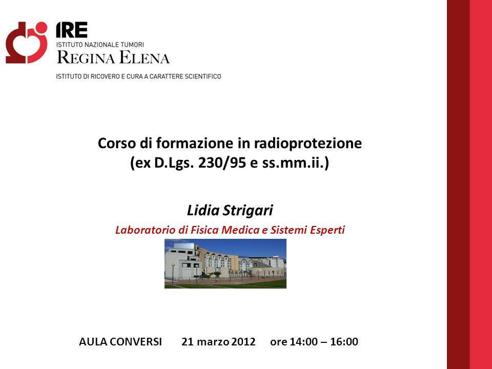 Corso di formazione in radioprotezione (ex D.Lgs.