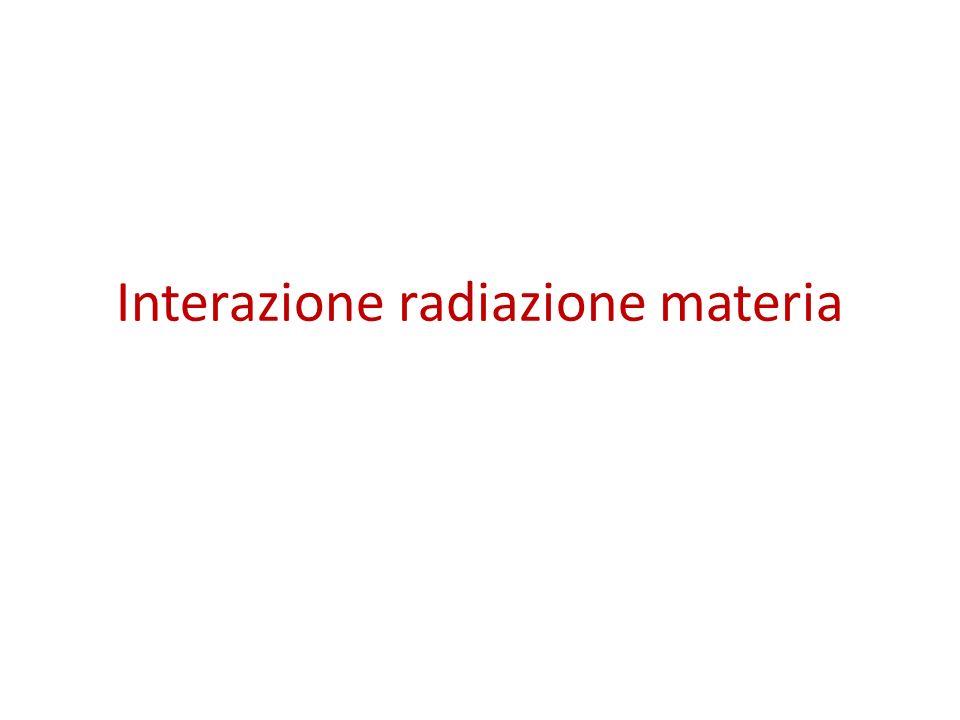 Altre fonti di radiazioni ionizzanti