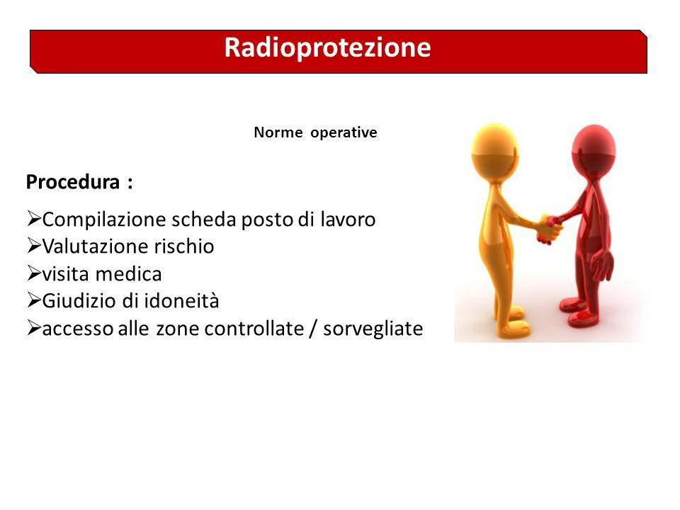 Radioprotezione Obiettivo: preservare lo stato di salute dei lavoratori e della popolazione, riducendo i rischi sanitari indotti dalluso delle radiazi