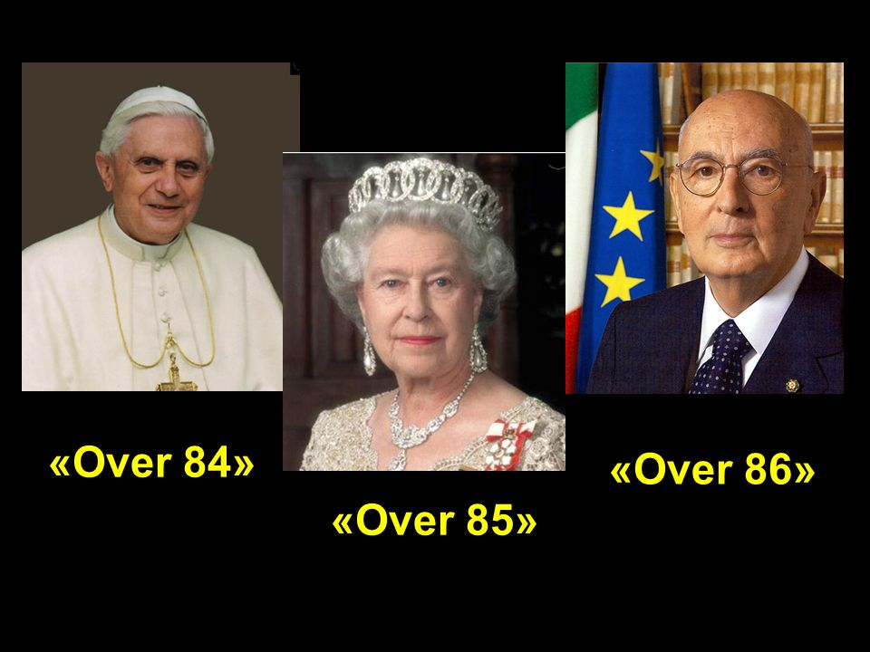 «Over 84» «Over 85» «Over 86»