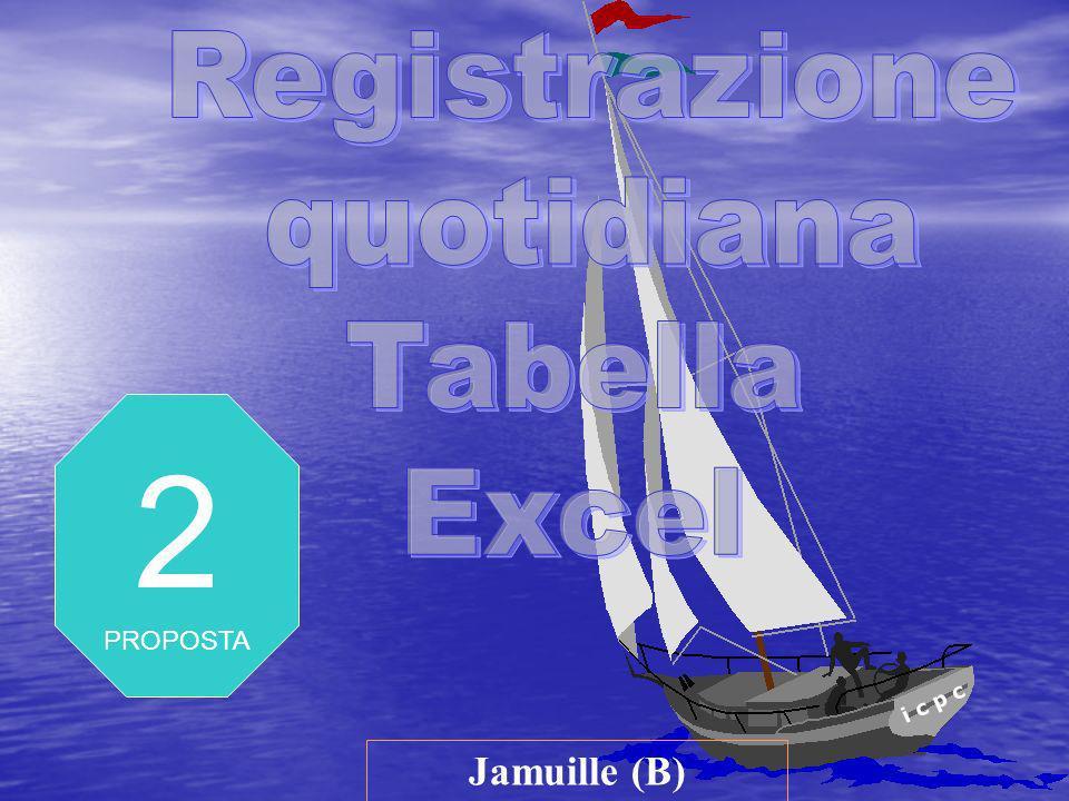 i c p c Jamuille (B) 2 PROPOSTA