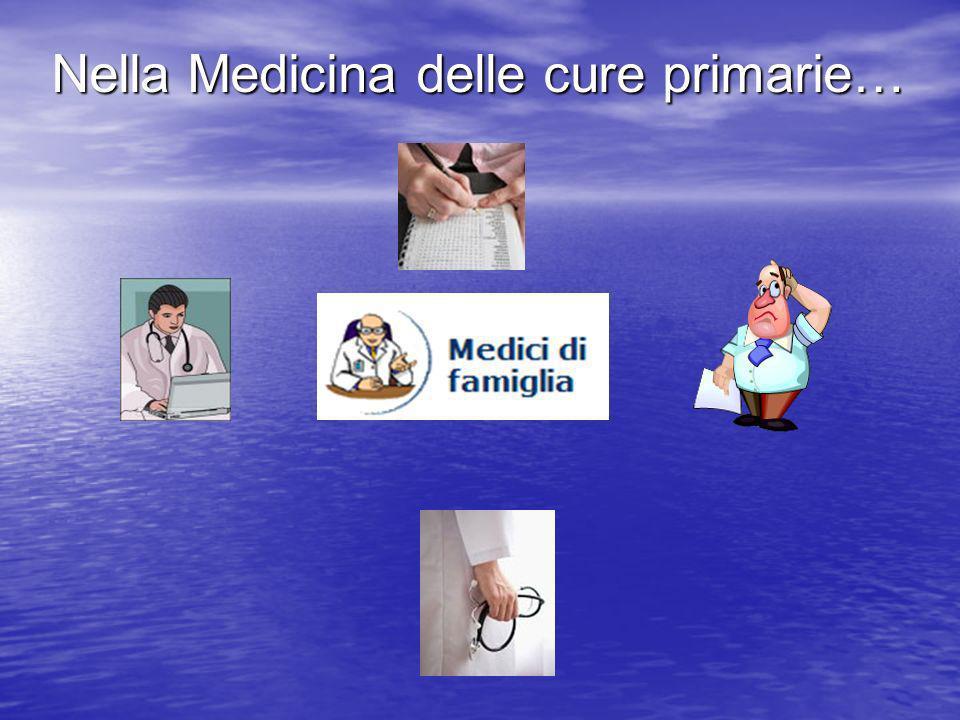Nella Medicina delle cure primarie…