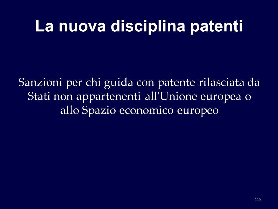 La nuova disciplina patenti Sanzioni per chi guida con patente rilasciata da Stati non appartenenti all'Unione europea o allo Spazio economico europeo