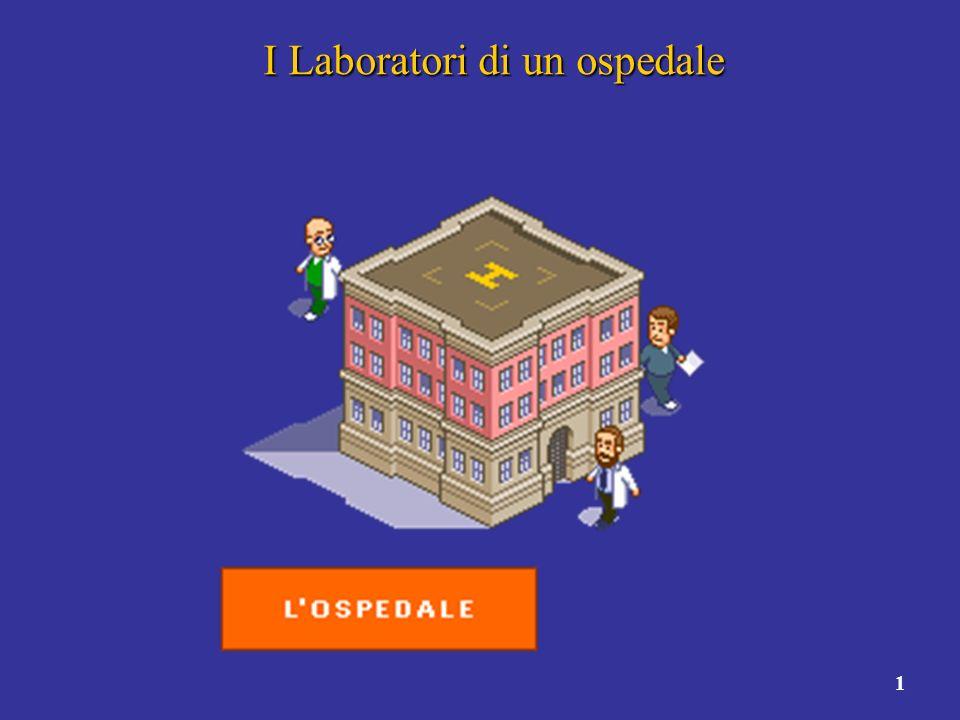 2 Cosa fanno i laboratori di un ospedale.Cosa fanno i laboratori di un ospedale.