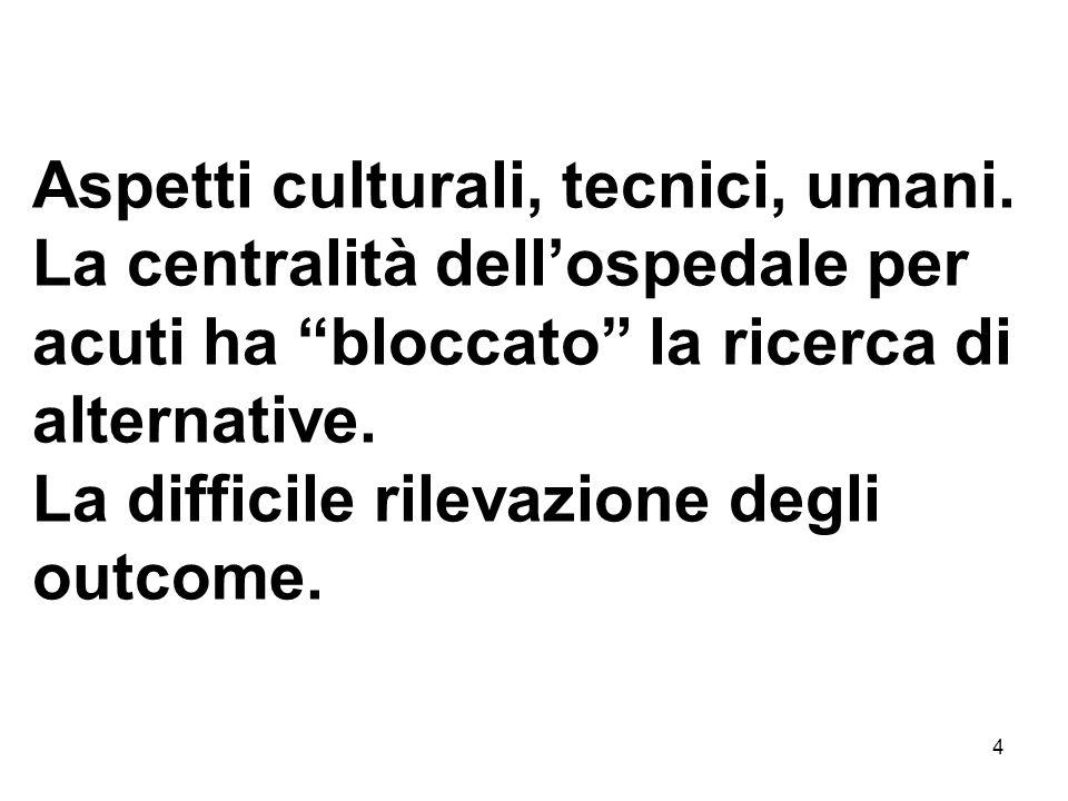 4 Aspetti culturali, tecnici, umani.