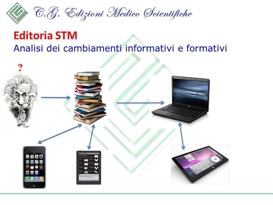 Editoria STM Analisi dei cambiamenti informativi e formativi