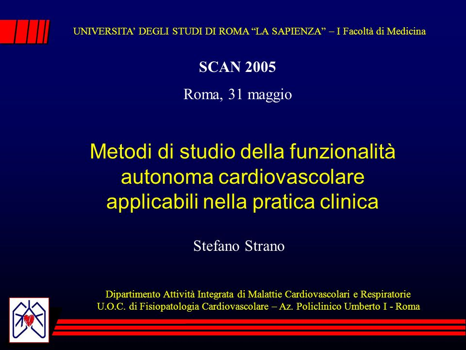 Cardiac Autonomic Derangement and Arrhythmias in Right-Sided Stroke With Insular Involvement Furio Colivicchi, MD, FESC; Andrea Bassi, MD; Massimo Santini, MD, FESC, FACC; Carlo Caltagirone, MD Conclusions These findings further support the notion that the right insula is implicated in the autonomic control of cardiac activity and that acute right insular damage may lead to a derangement of cardiac function with potential prognostic implications.